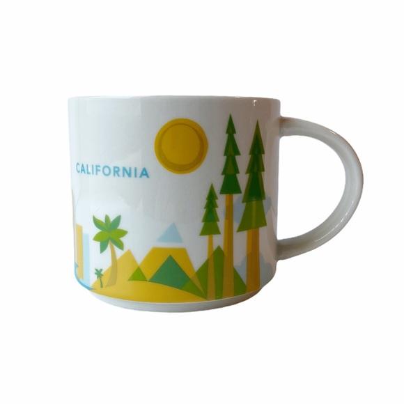Starbucks California Mug You Are Here Collection